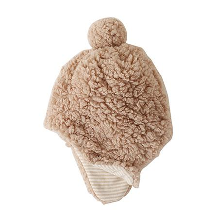 Sherpa fabric hat protect your head and ears
