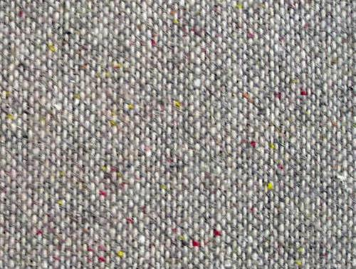 Tweed fabric homespun