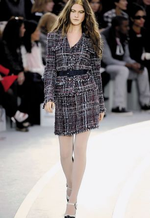 Tweed suit from the Chanel autumn/winter collection