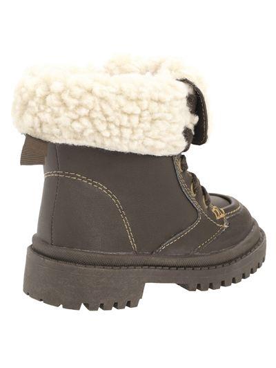 warm boots Sherpa lining