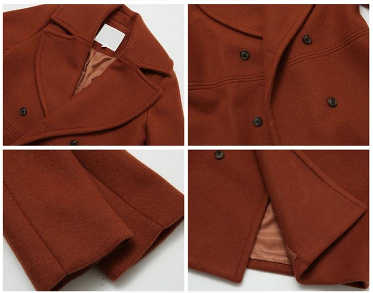 wool coat parts