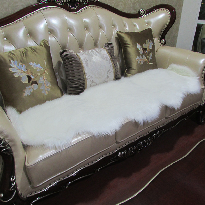 plush fake fue fabric for sofa