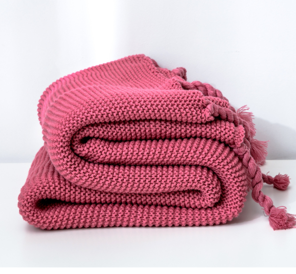 chunky knit blanket supplier