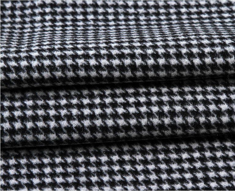wool jacquard fabric supplier
