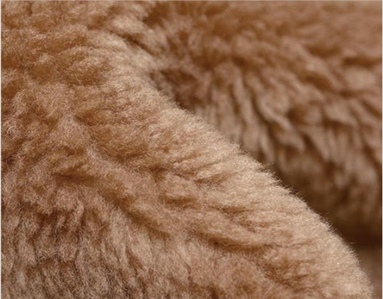 teddy wool fabric supplier