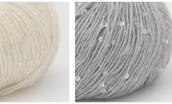 sequin wool yarn manufacturer