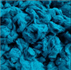 wool fiber dye before yarn spin