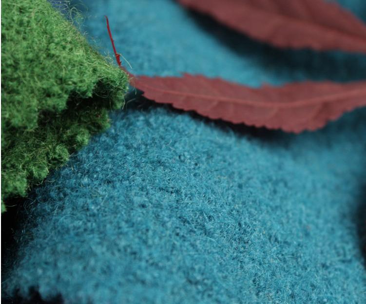 merino boiled wool fabric