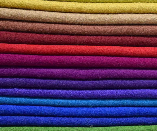 boiled wool fabric supplier