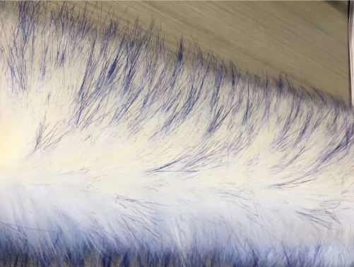long pile faux fur fabric supplier