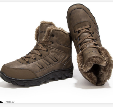 snow boots men wholesale