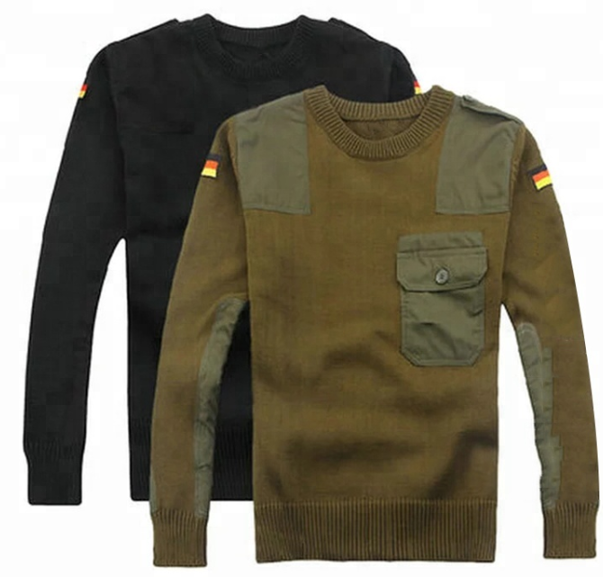 army wool sweater manufacturer