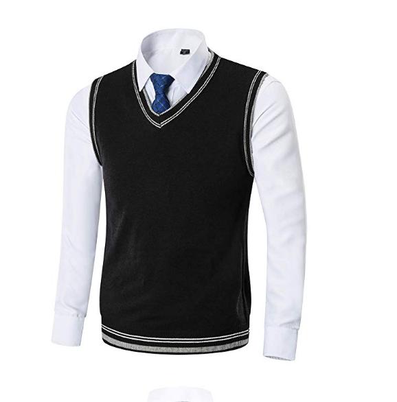 wool uniform sweater