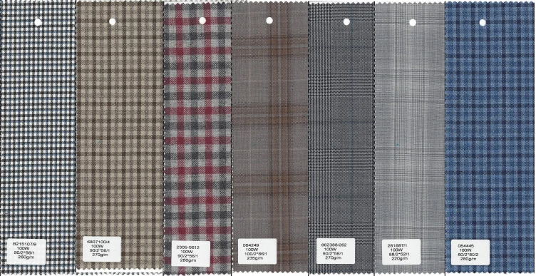 worsted wool fabric manufacturer