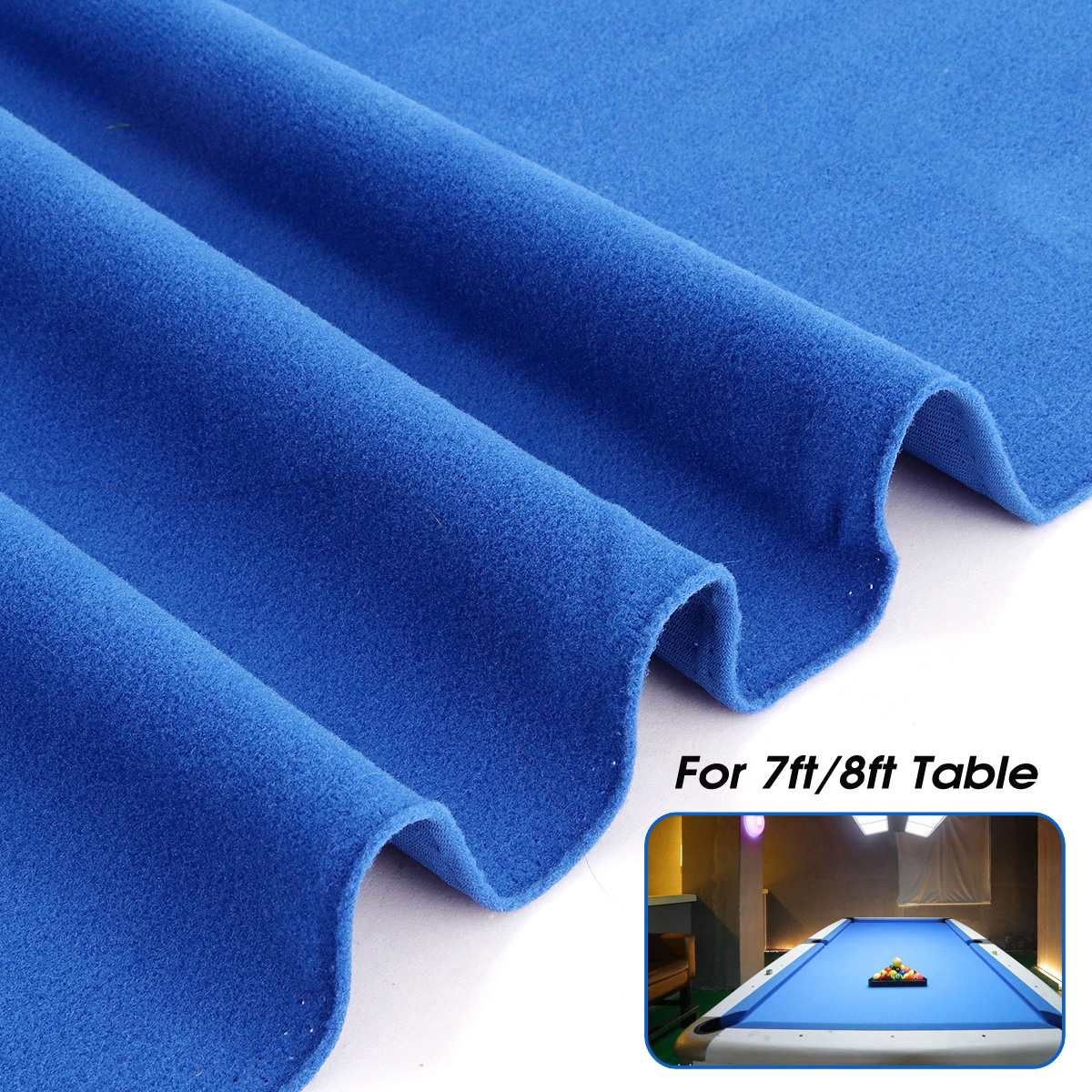 worsted wool pool table cloth